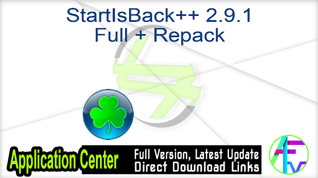 StartIsBack++ 2.9.1 Full + Repack