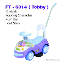 Ride-on Car FAMILY FT6314 Tobby