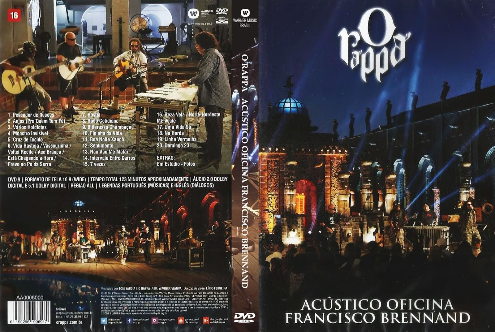 Download O Rappa Acústico Oficina Francisco Brennand DVD-R O 2BRappa 2B  2BAc 25C3 25BAstico 2BOficina 2BFrancisco 2BBrennand 2B 25282016 2529 2BOficial