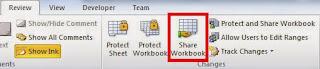Agar File Excel dapat diedit beberapa orang dan diwaktu bersamaan Engineering Tips dan Trik