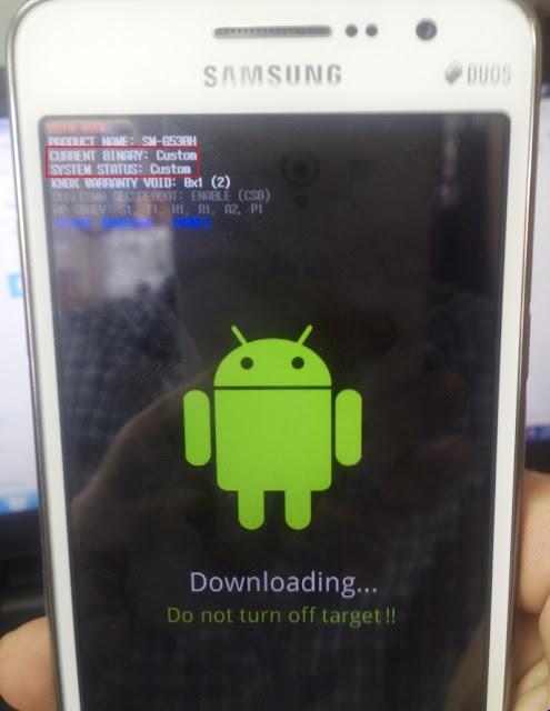 Rom full files Samsung Galaxy G530H + Tiếng Việt