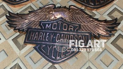 Logo Harley Davidson Tembaga Burung
