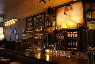 The bar featuring The Baroness (Courtesy of Thrillist)
