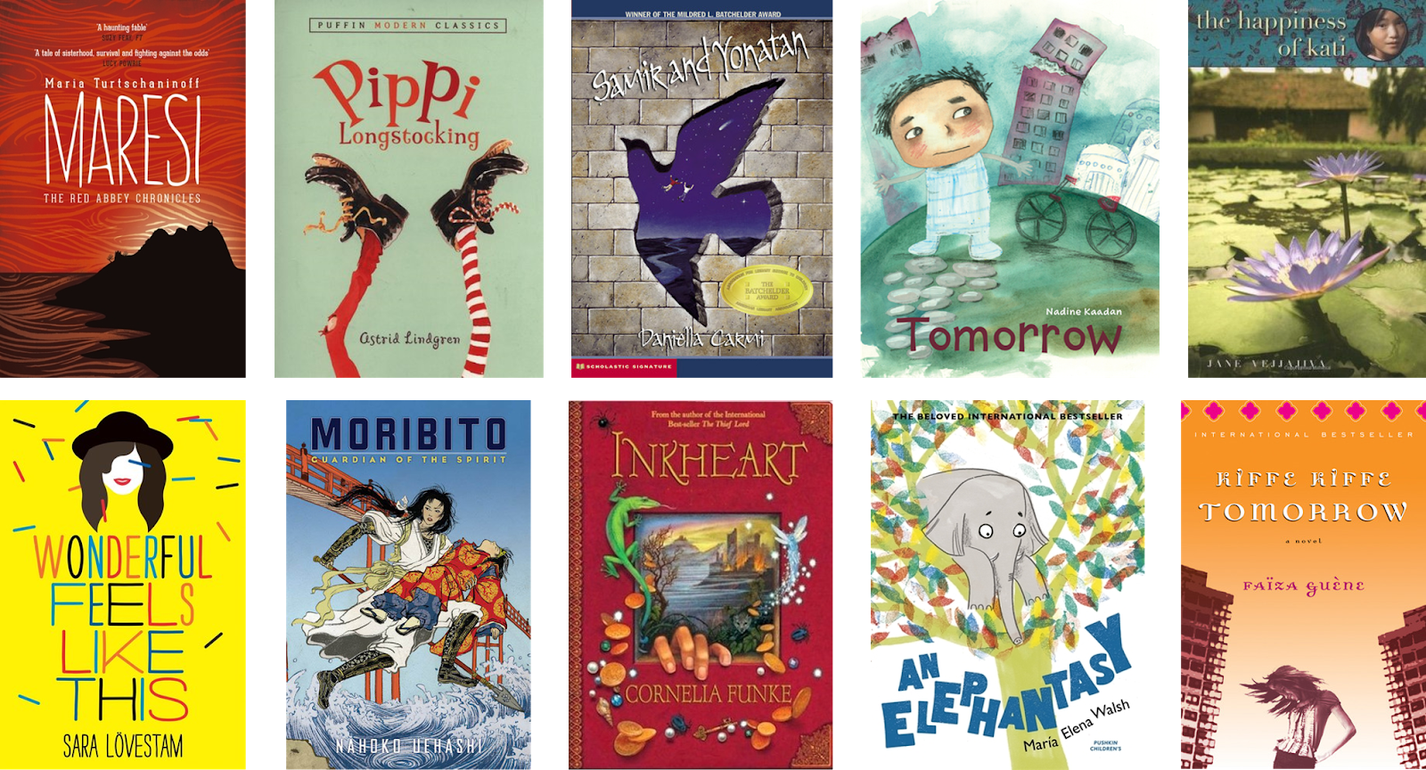 Biblibio Witmonth Day 26 10 Recommended Kids And Ya Books