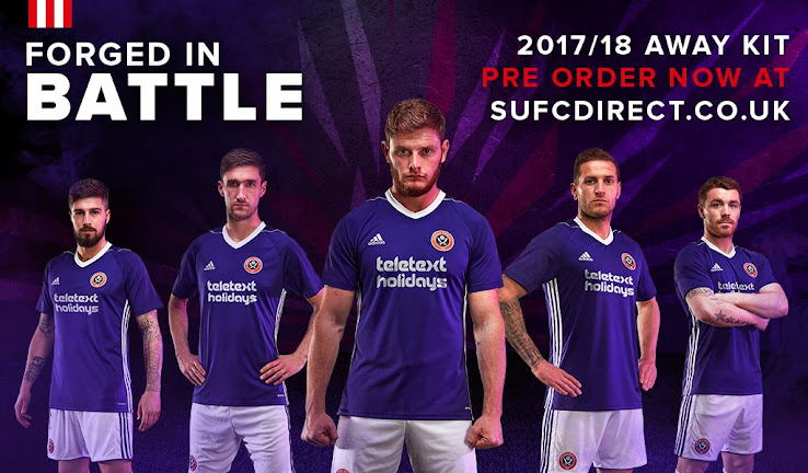 Adidas Sheffield United 17-18 Home   Away Kits Released - Footy ... df935c9c3