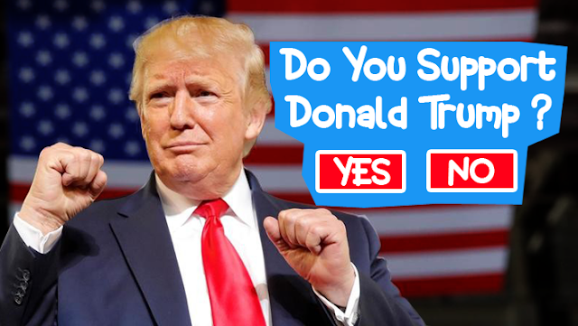 DO YOU SUPPORT DONALD TRUMP IN THE NEXT ELECTION ?