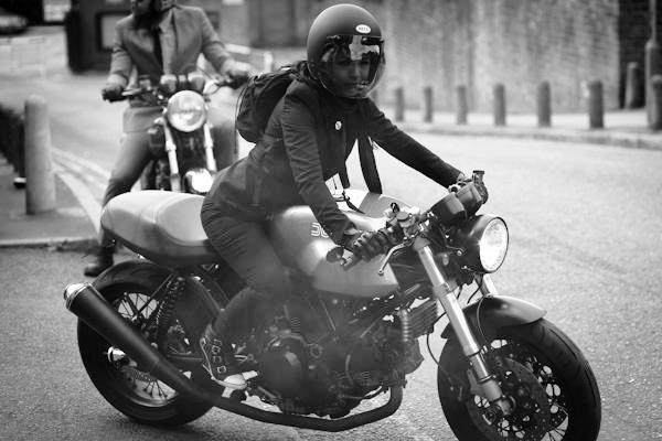 Motorcycle Girl 79 | Return of the Cafe Racers
