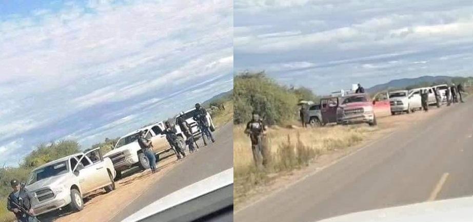 """Sicarios en Sonora Amenazan a pobladores """"Tienen 20 días para irse"""": En retén ilegal quitan carros y pertenencias"""