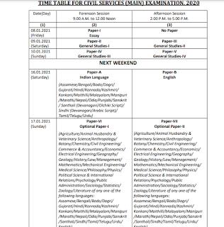 UPSC mains exam 2020, UPSC IAS mains exam date 2020, UPSC IAS exam 2020, UPSC exam 2020, IAS exam 2020