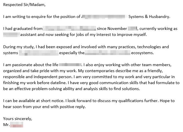 contoh cover letter facebook
