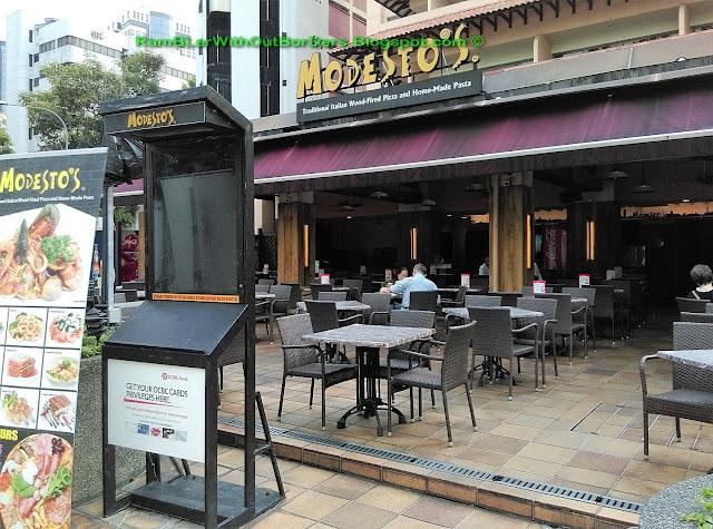 exterior, Modesto's @ Orchard, Singapore