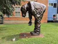 Maitland Public Art | Fetch Boy by Gillie & Marc