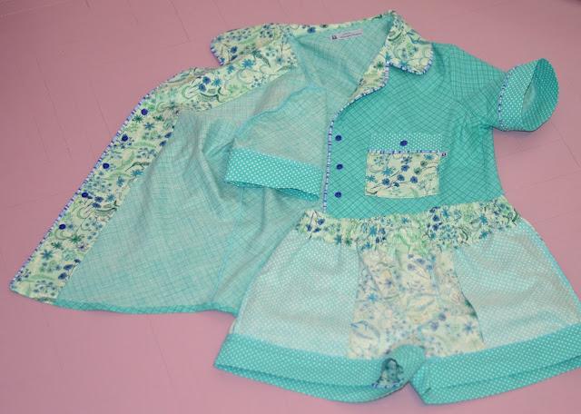 Carolyn Pajamas inside