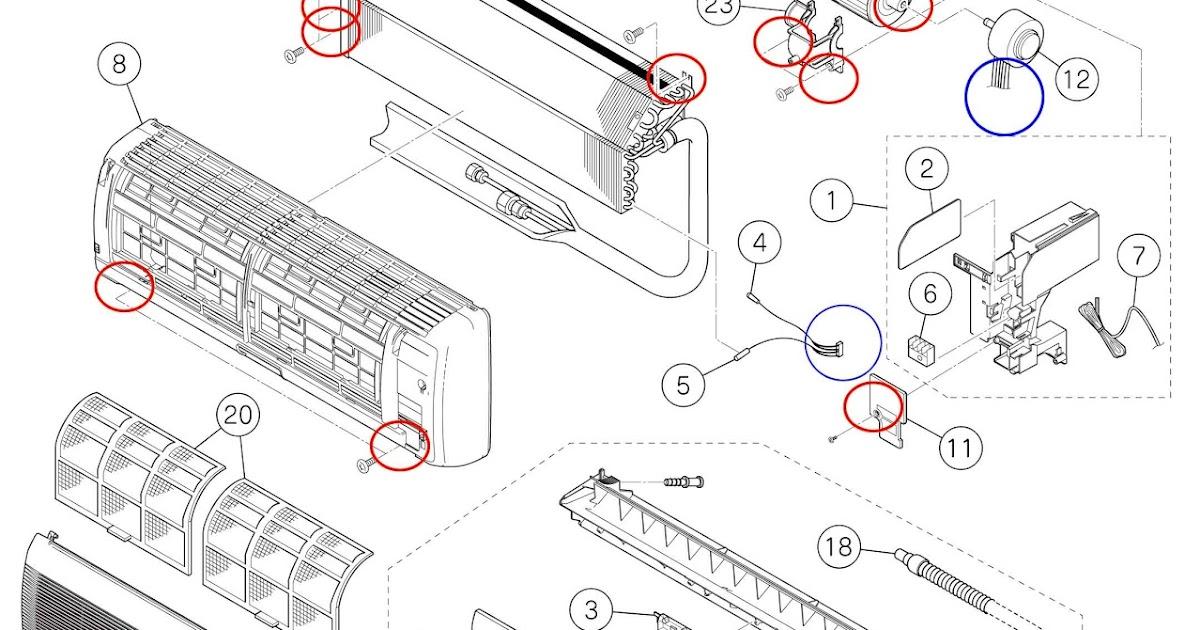 JB Service: Citcop/Panasonic RC-1229PVXU / RA-1229PVXU air