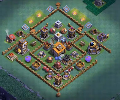 Base Builder Hall 6 Terkuat