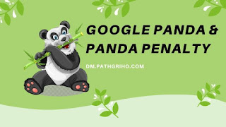Google Panda and Panda Penalty
