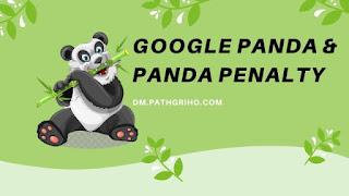 Google Panda and Panda Penalty