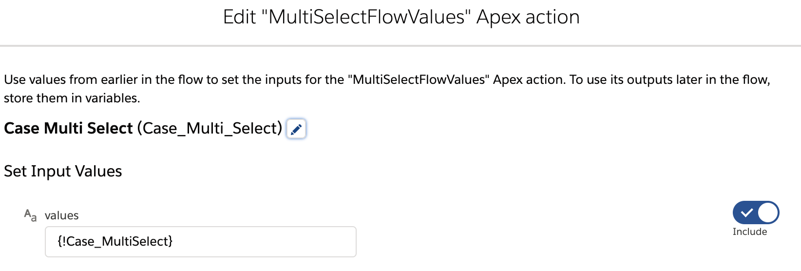 MultiSelect Picklist Flow Salesforce