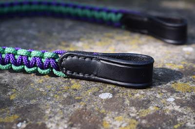 Frontalino in corda intrecciata a 2 colori fatto a mano su misura disponibile in tutti i colori