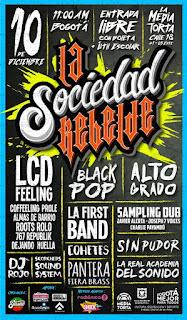 Festival La Sociedad Rebelde #1 en La Media Torta