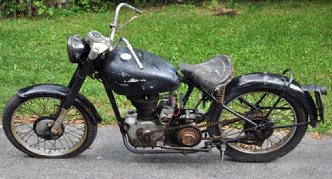 RoyalEnfields.com: 250cc 1951 Royal Enfield Model S is ...