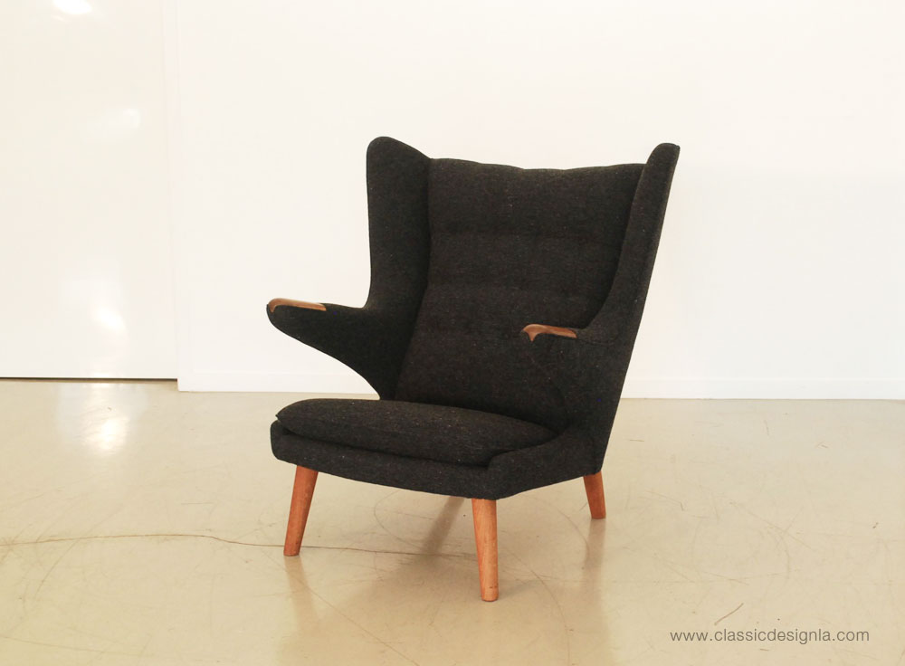 classic design: Before & After: Hans Wegner Papa Bear Chair