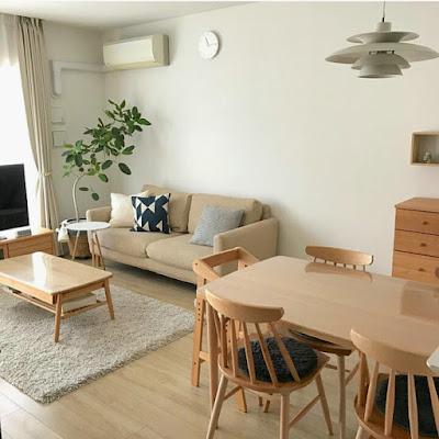 Small apartment furniture arrangement idea