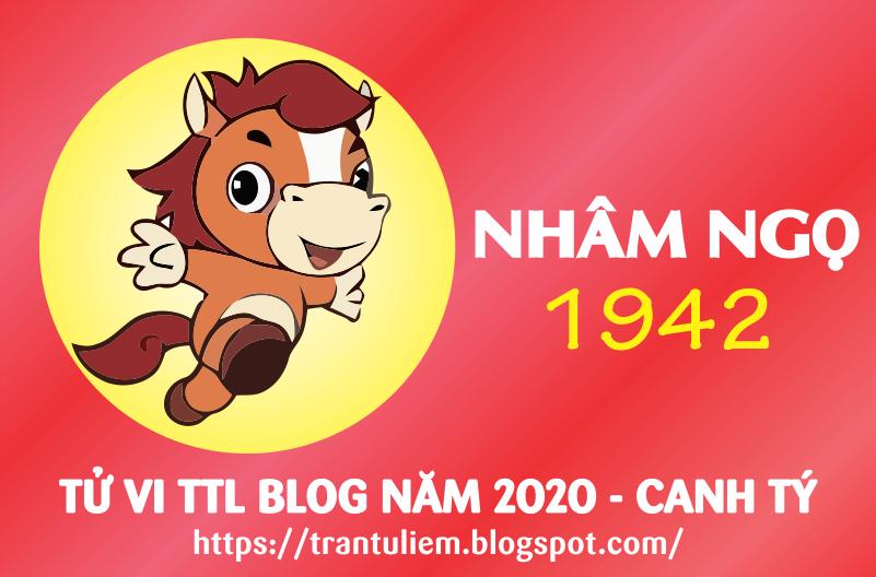 TỬ VI TUỔI NHÂM NGọ 1942 NĂM 2020 ( Canh Tý )