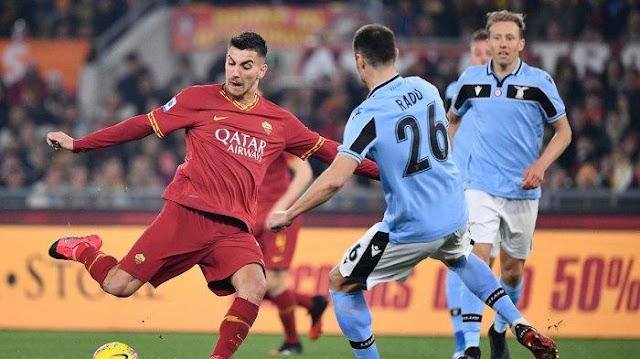 Video Cuplikan Gol: AS Roma 1-1 Lazio (Serie A)