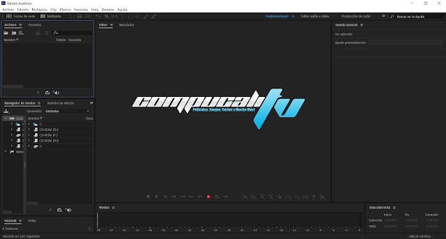 Adobe Audition CC 2020 Versión Full Español