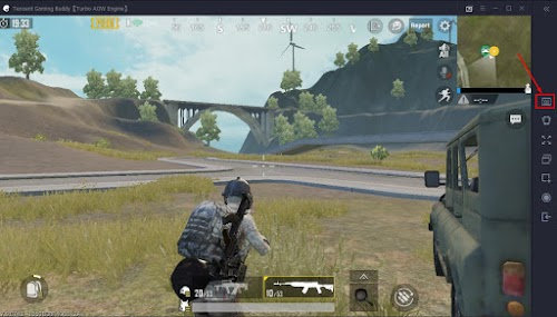 Cara Setting Controller Kendaraan Pubg Mobile Di Tencent Emulator