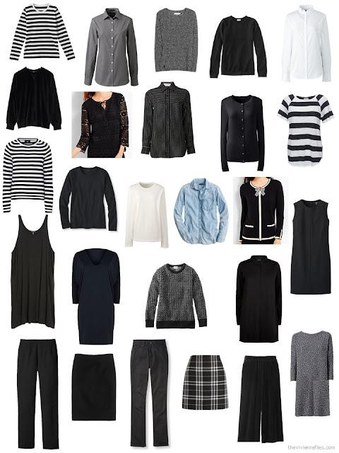 my 26-piece wardrobe for October 2017