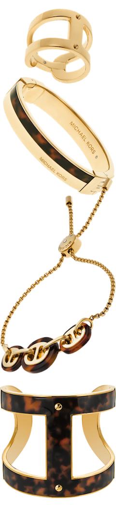 Michael Kors Tortoise Jewelry