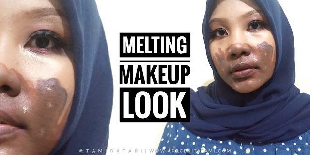 BEAUTYCOLLAB.ID COLLAB: Melting Makeup Look
