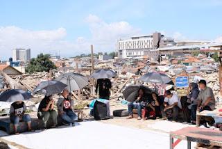 Massa Solidaritas Siap Negosiasi Korban Penggusuran Tamansari dengan Pemkot Bandung