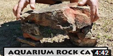 Build a Free Aquarium Rock Cave
