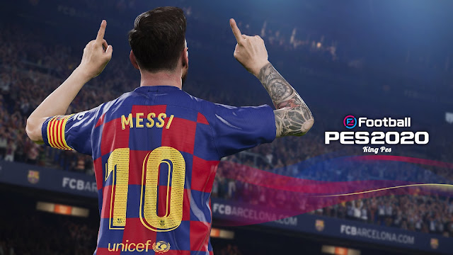 PES 20 Start Screen for PES 17 - PES 18 - PES 19 By Last Fiddler