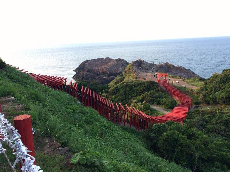 ศาลเจ้าโมโตโนสุมิ อินาริ (Motonosumi Inari Shrine: 元ノ隅稲成神社) @ livedoor.blogimg.jp