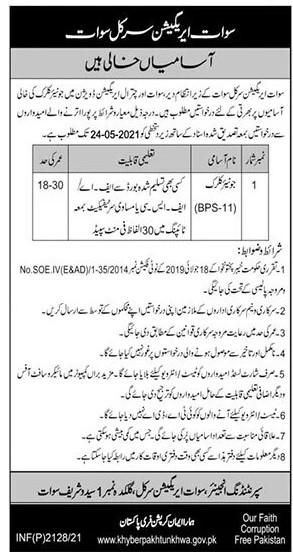 Irrigation Department KPK Jobs 2021 in Pakistan