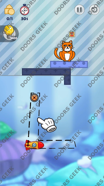 Hello Cats Level 99 Solution, Cheats, Walkthrough 3 Stars for Android and iOS