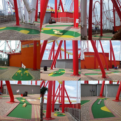 Crazy Golf at Fantasy Island in Ingoldmells