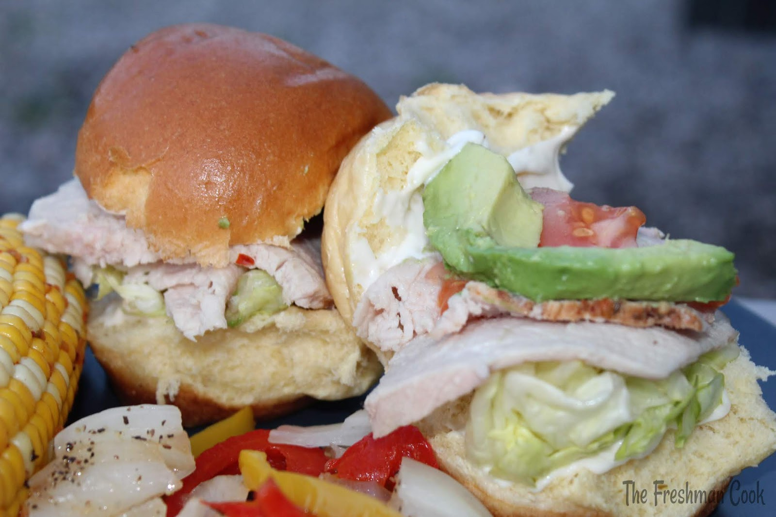 Southwestern Mini Grilled Pork Sandwiches