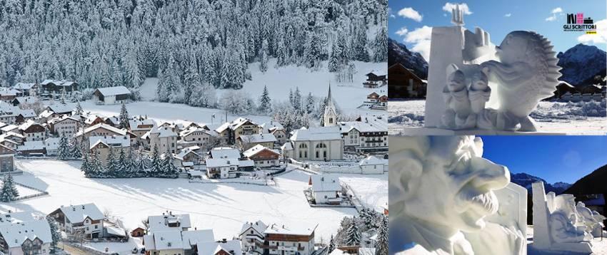 Italia: Festival Internazionale delle sculture in neve