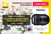 Castiga un obiectiv AF-S Nikkor Micro VR 105mm f/2.8G IF-ED