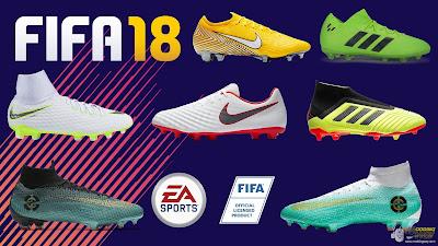 FIFA 18 New Boots Season 2018/2019 by Andrimod