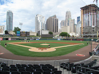 Home to center, BB&T Ballpark