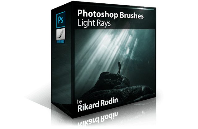 Photoshop Brushes: Light Rays