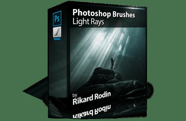 Photoshop Brushes: Light Rays
