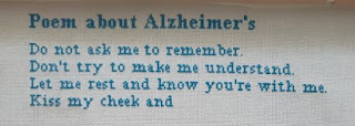 Alzheimer's Poem Jan 17