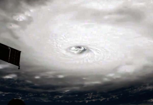Impresionante vídeo huracán Irma, Estación Espacial Internacional